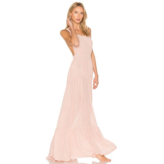 Found the millennial pink dress to see you through for Millennial pink wedding dress