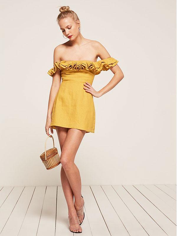 best off-the-shoulder dress