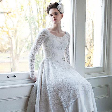 vintage wedding dresses: heavenly vintage brides