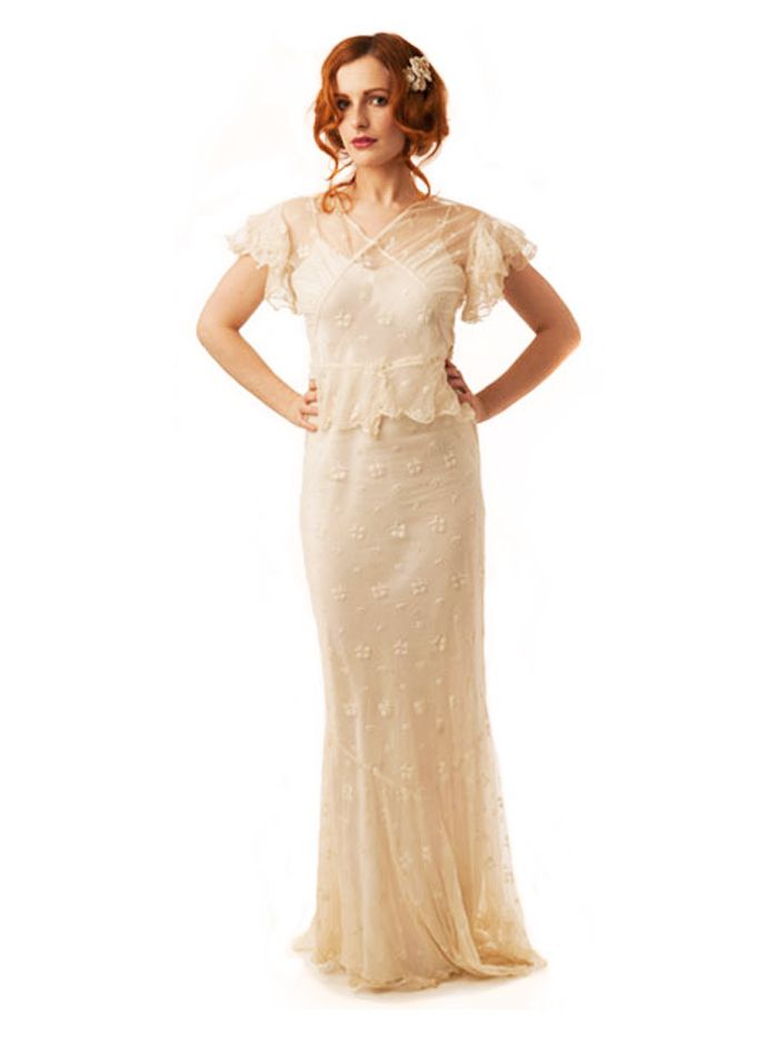 Vintage Wedding Dresses: Where to Buy Them   Who What Wear UK