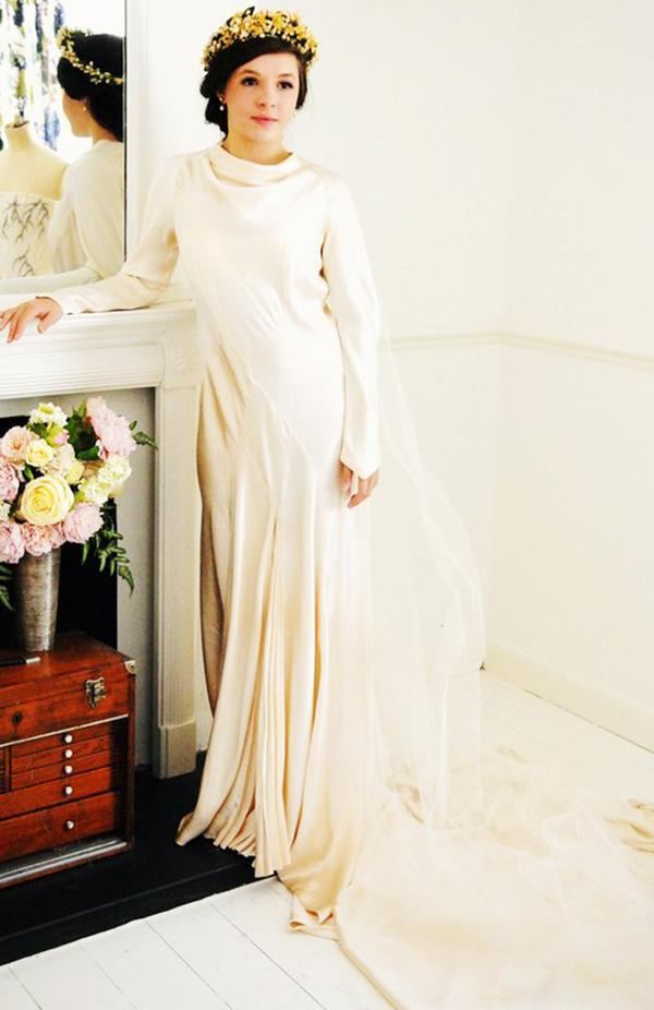 Vintage wedding dresses: Abigail's Vintage Bridal