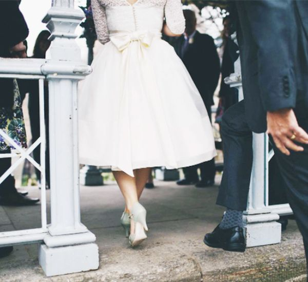 Vintage wedding dresses: Fur Coat No Knickers