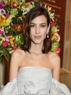 Alexa Chung and Her Dad Sharing the Red Carpet Is the Sweetest Thing