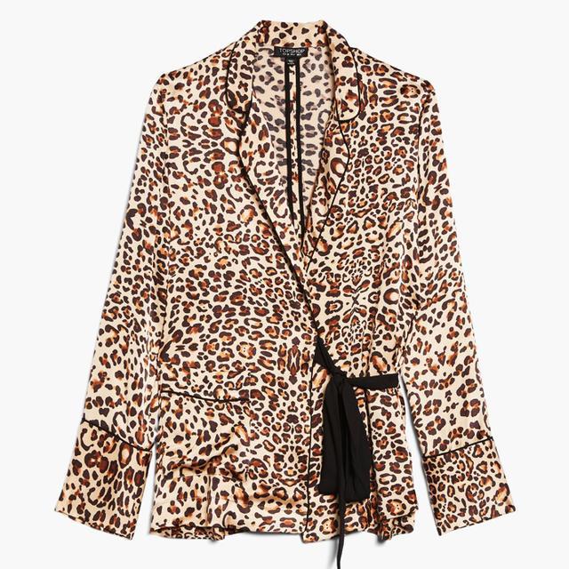French Fashion Basics: Topshop Leopard Print Shirt