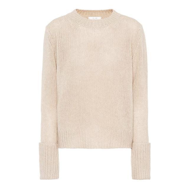 French Fashion Basics:  The Row Cashmere Sweater