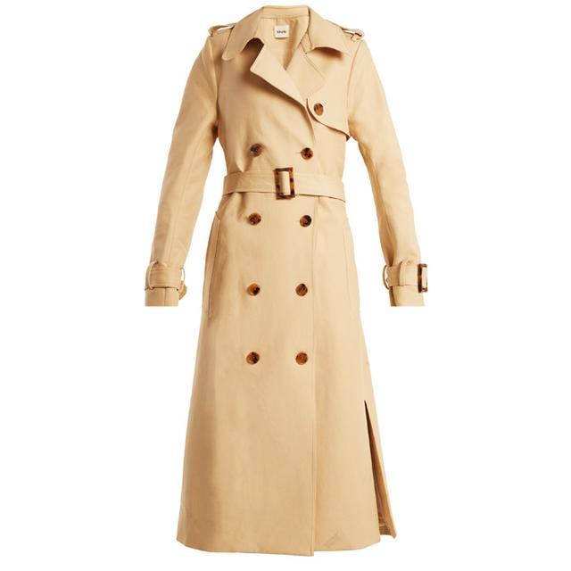 French Fashion Basics: Khaite Trench Coat
