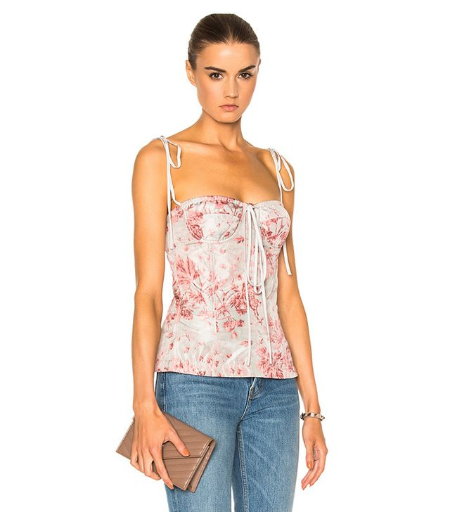 best light tops for spring - bustier Top