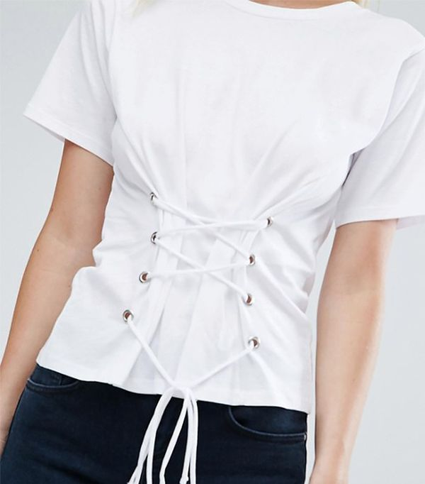affordable corset top