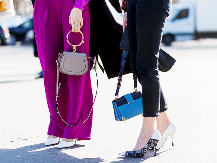 spring 2017 street style handbags