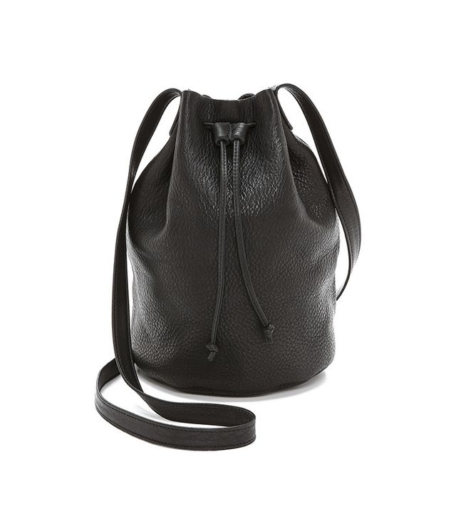 best minimalist bucket bag