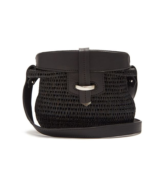 best black basket bag