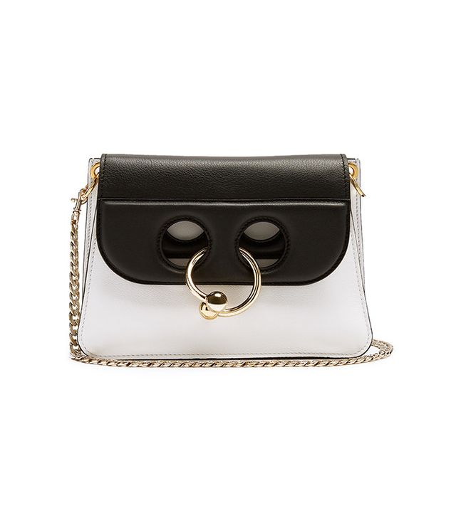 J.W.Anderson White & Black Mini Pierce Bag