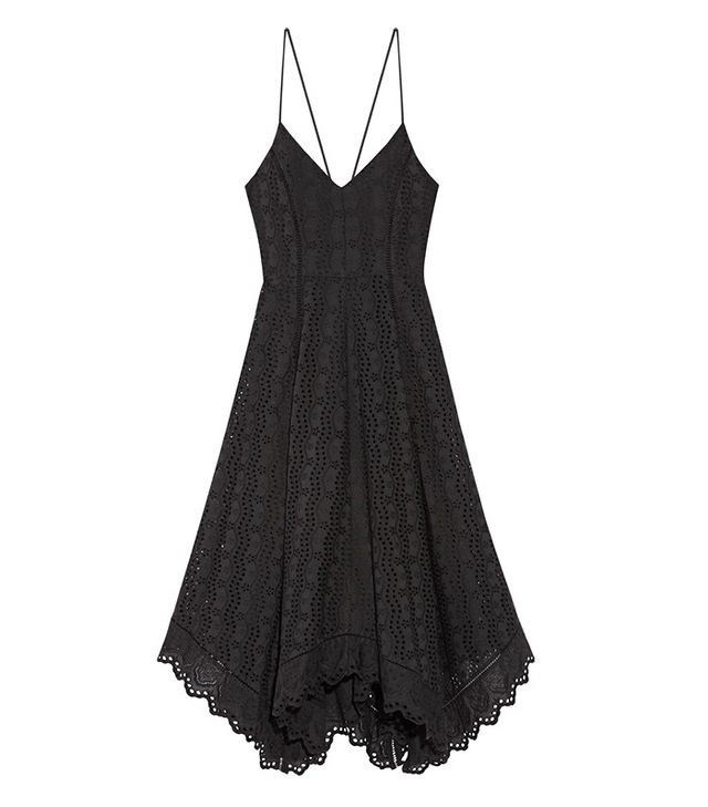 best black summer dress- LoveShackFancy Melody Dress