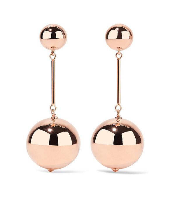 J.W.Anderson Rose Gold-Tone Earrings