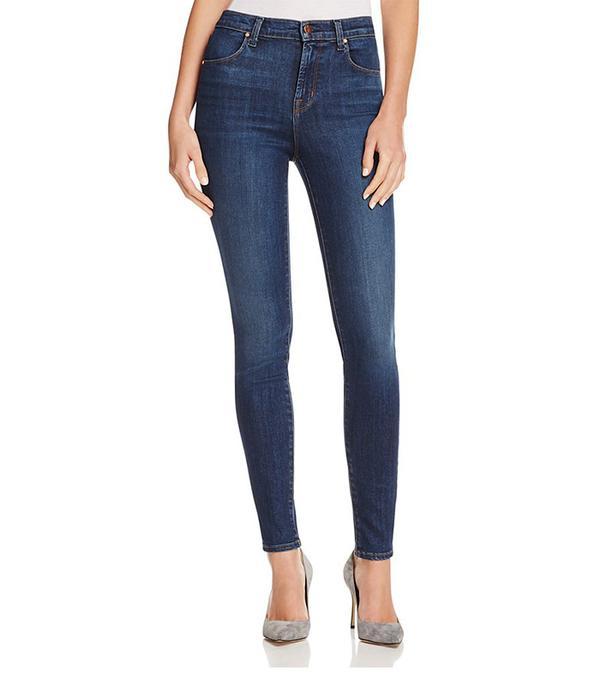J Brand Maria High Rise Skinny Jeans in Fleeting