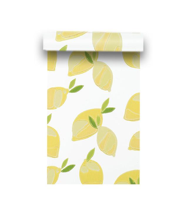 Serena & Lily Lemons Wallpaper - White