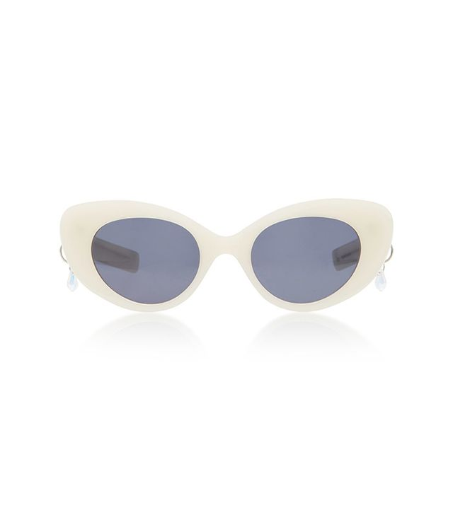 Pared Eyewear Poms & Pared Acetate Cat-Eye Sunglasses