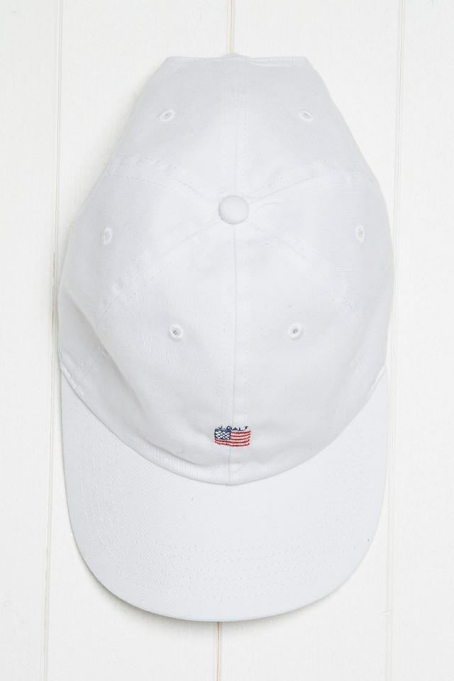 best baseball hat—Brandy Melville Katherine J. Falt Flag Cap