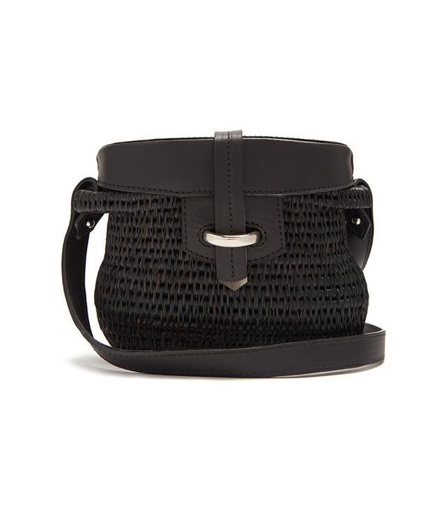 best black basket bag
