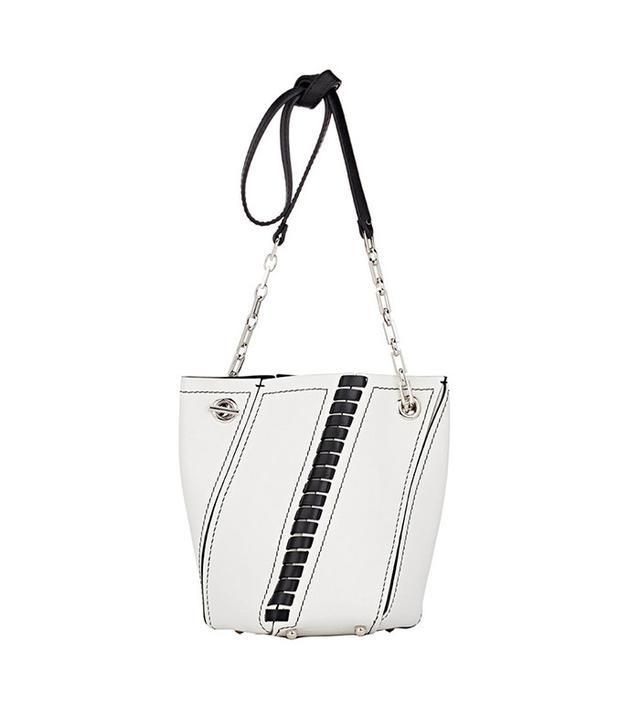 best white handbag
