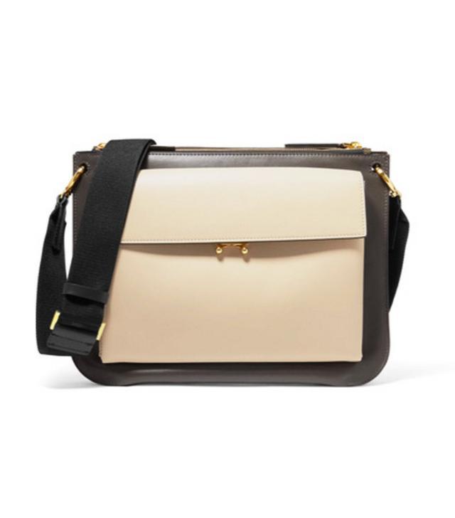 Marni black and white clutch bag