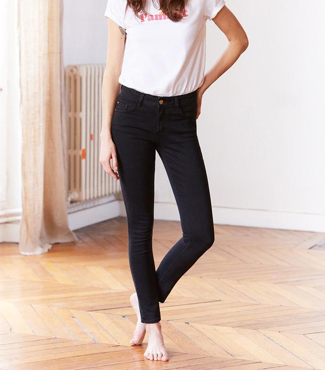 best black skinny jeans