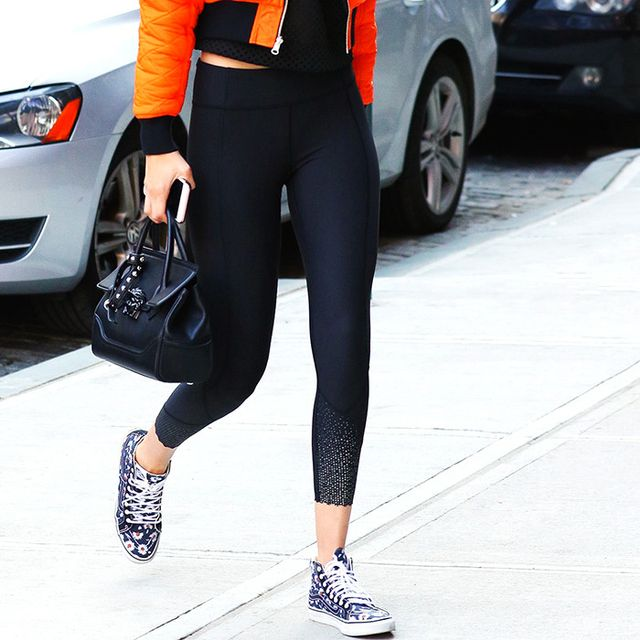 You Won't Catch Fashion Girls Wearing These Shoes With Leggings