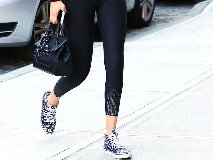 You Probably Won't Catch Fashion Girls Wearing These Shoes With Leggings