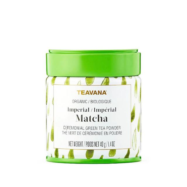 energy-boosting foods—Teavana Matcha Japanese Green Tea