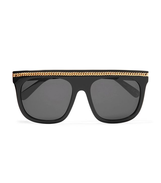 Italian girl style: Stella McCartney D-Frame Sunglasses