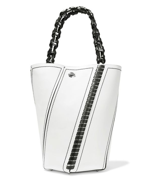 Proenza Schouler Hex Medium Paneled Leather Tote