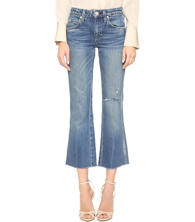 AMO Kick Crop Jeans