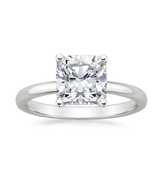 best cushion cut solitaire ring