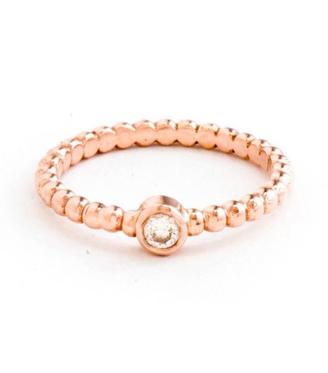 best rose gold engagement ring maya brenner