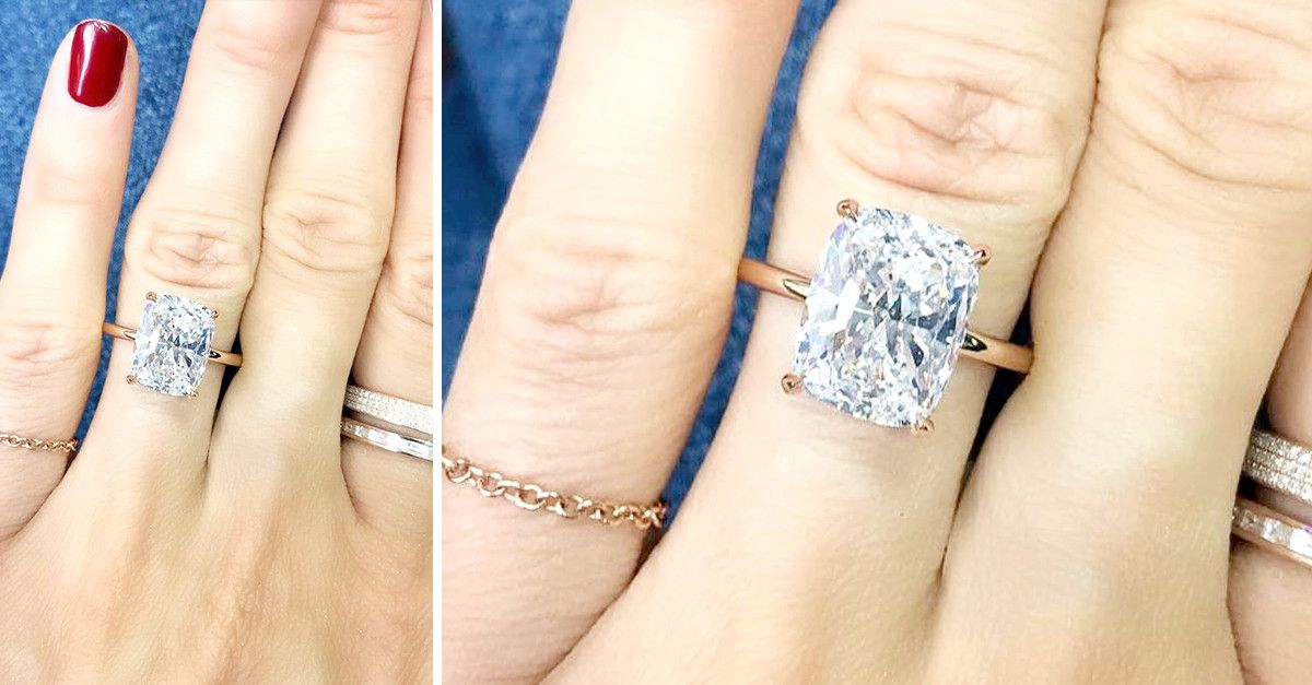 3 engagement ring styles youre seeing everywhere thanks to celebs whowhatwear - Lauren Conrad Wedding Ring