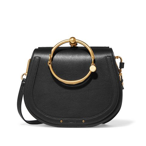 Nile Bracelet Small Leather Shoulder Bag