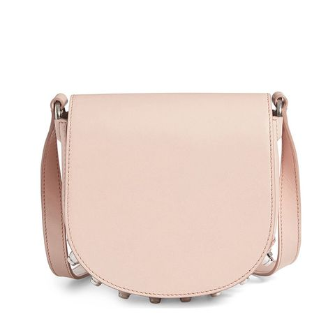 Mini Lia Leather Crossbody Bag