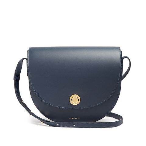 Saddle Leather Shoulder Bag