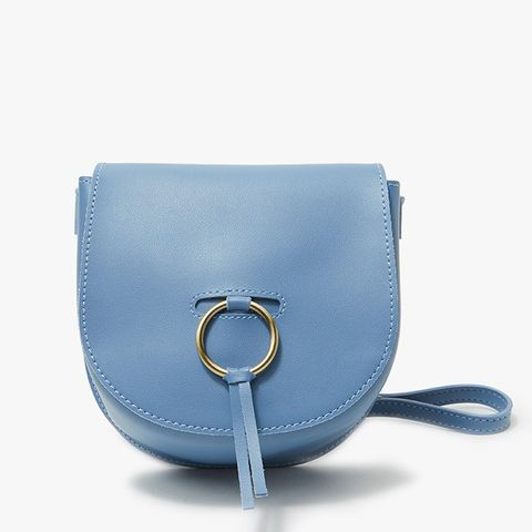 Bianca Shoulder Bag in Blue