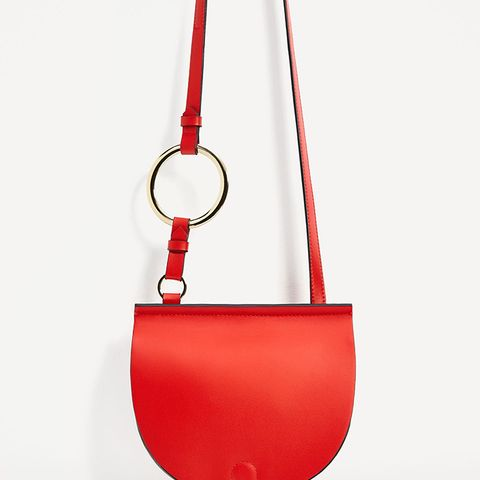 Join Life Oval Crossbody With Ring Detail