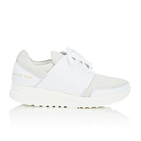Track Suede & Leather Sneakers