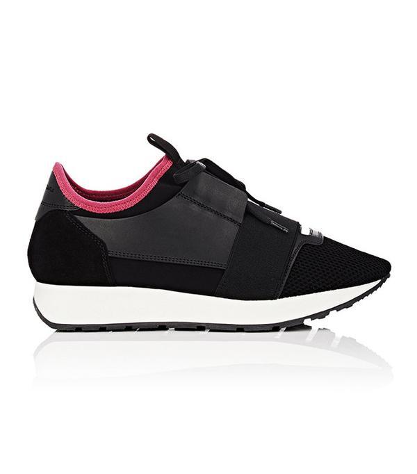 balenciaga black sneakers