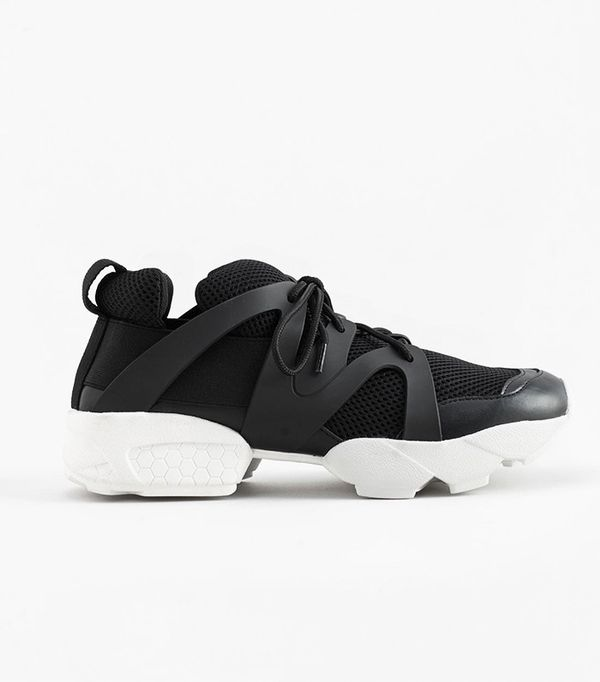 best affordable black sneakers