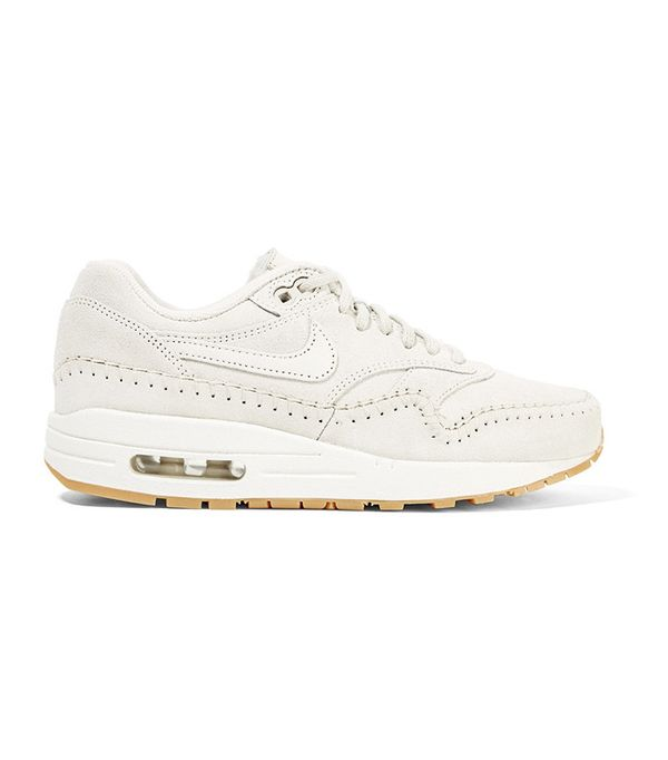 nike air max white sneakers