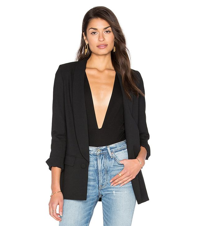 loose blazer for women