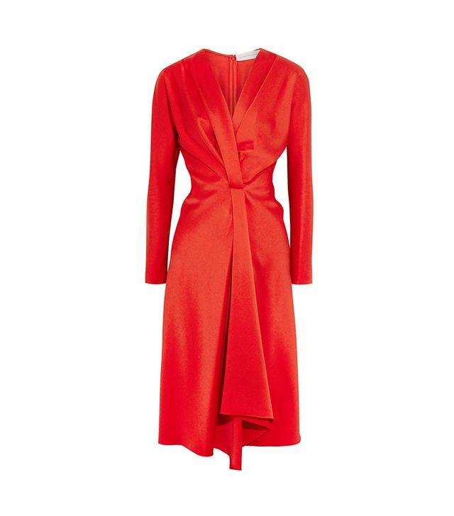 designer wrap dress