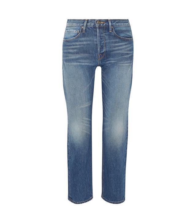 best 100% cotton jeans- Frame Rigid Re-Release Le Original Jeans