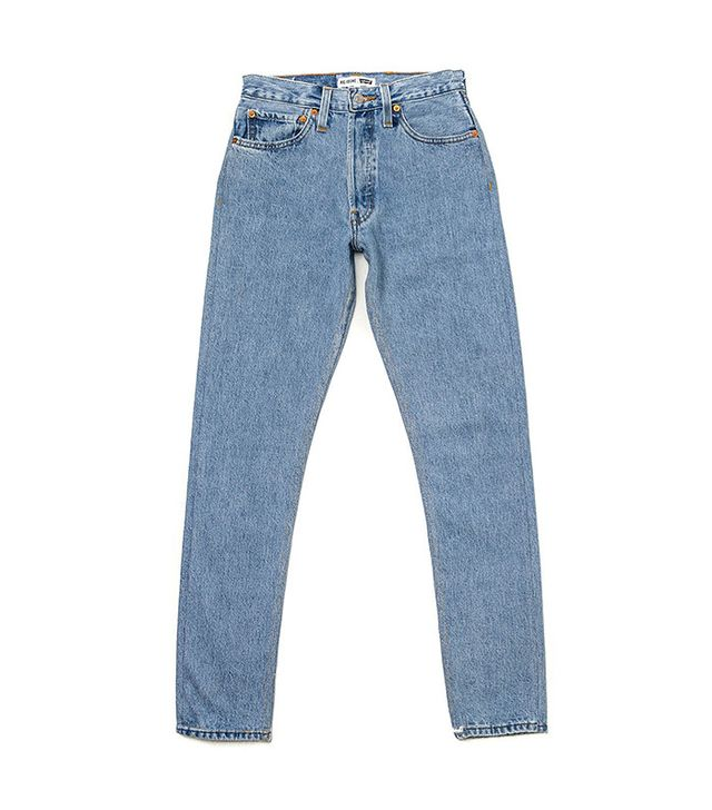 best vintage Levi's- Re/Done high rise jeans