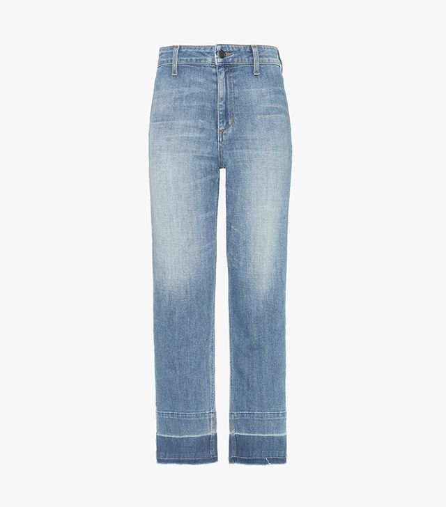 most comfortable straight-leg jeans- Joe's The Jane High Rise Straight Ankle Jeans