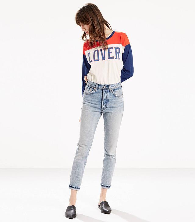 best skinny jeans- Levi's 501 Skinny Jeans